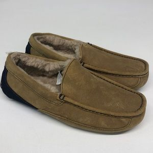 NEW Ugg Ascot Men's Suede Slippers 8